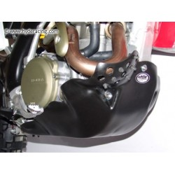 Exhaust Guard & Skid Plate