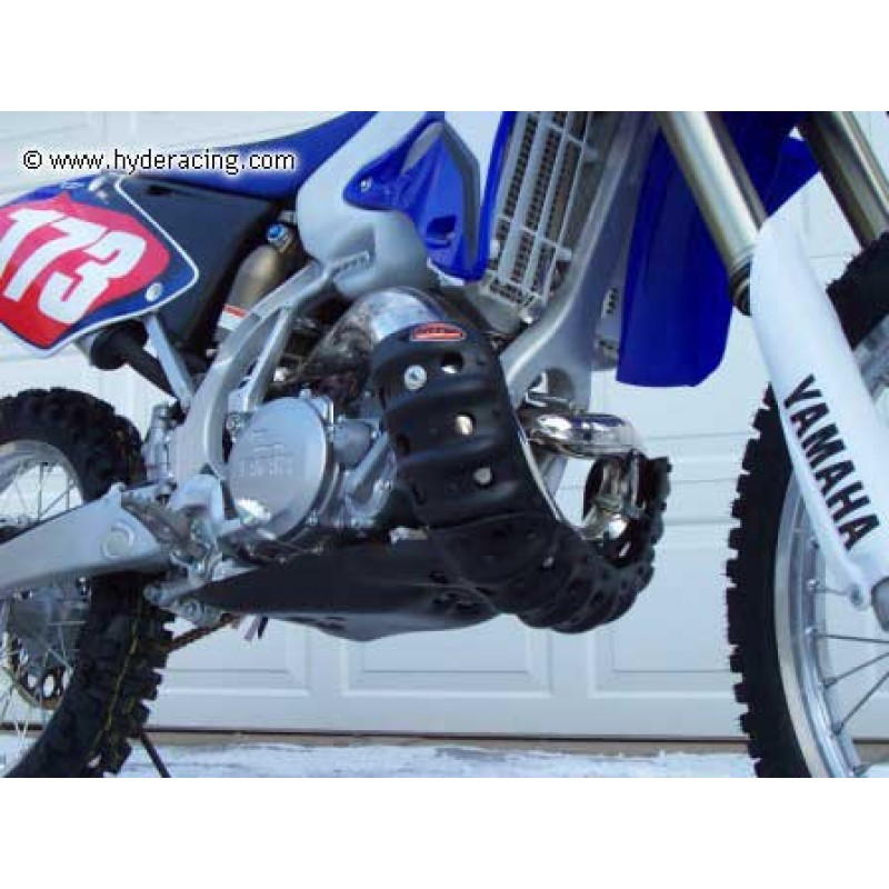 HP-EXG-35 Yamaha 250 2 Stroke Exhaust Guard Skid Plate from Hyde Racing